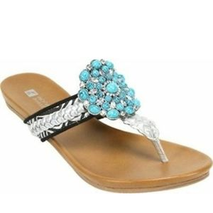 White Mountain Enrich Sandals